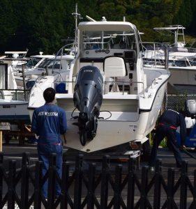 アオイマリーナ借りたレンタルボート