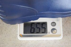 防寒EVAショートカラーワークブーツ TCの重さ写真