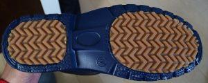 防寒EVAショートカラーワークブーツ TCの靴底写真