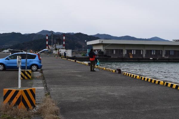小浜新港魚市場に向かったポイント
