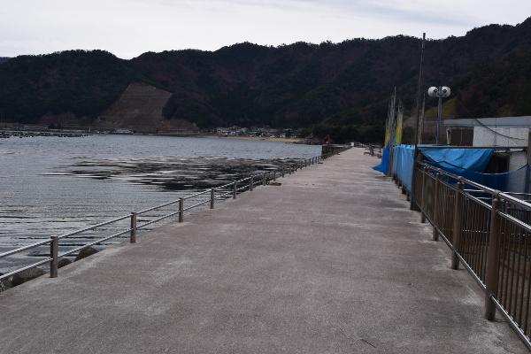 阿納漁港堤防