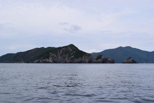 鹿島傍からの風景