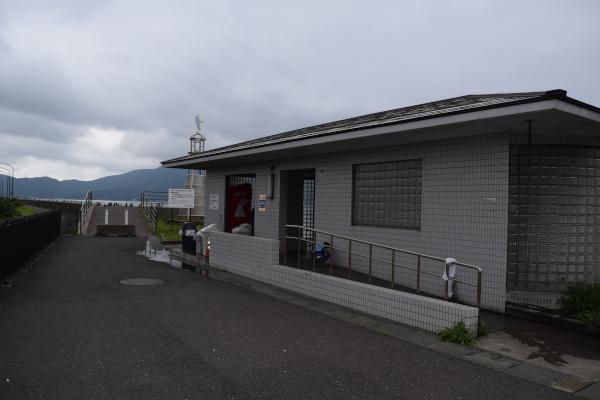 敦賀新港のトイレ