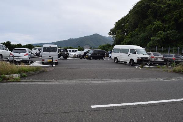 敦賀新港の駐車場