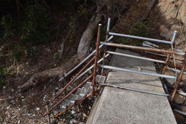 小橋漁港階段