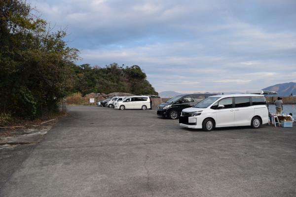 音海駐車場
