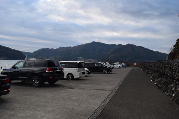音海大波止駐車場