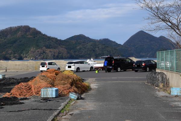 田井漁港駐車場