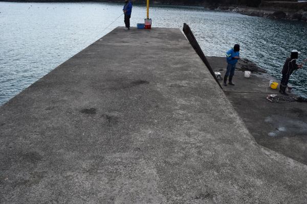 上瀬漁港堤防先端