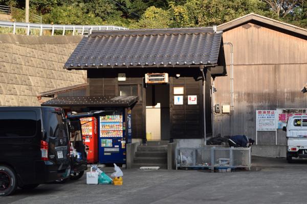 上瀬漁港トイレ