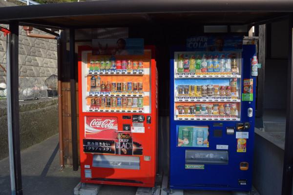 上瀬漁港自動販売機