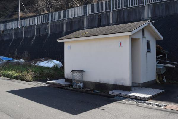 犬熊漁港トイレ