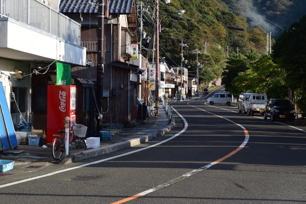 神子漁港自動販売機