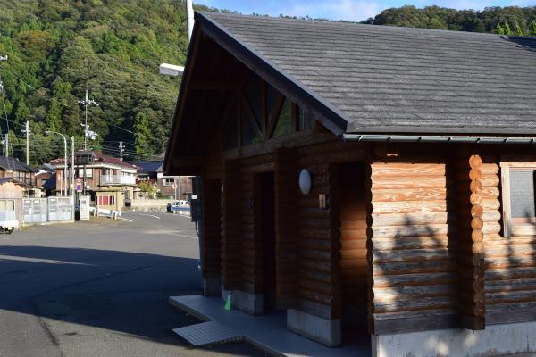 小川漁港のトイレ