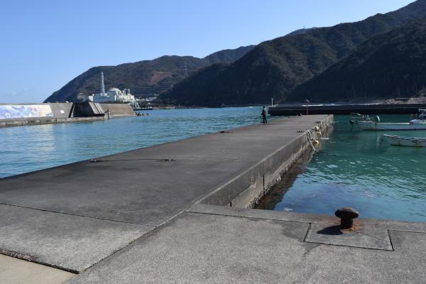 白木漁港内側堤防