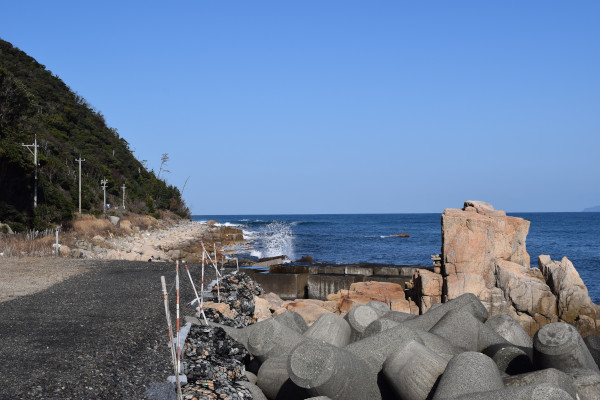 立石漁港外海
