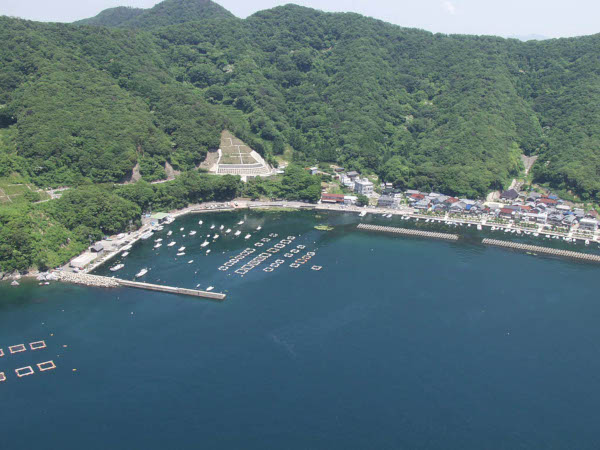 神子漁港写真