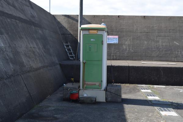 菅浜漁港トイレ