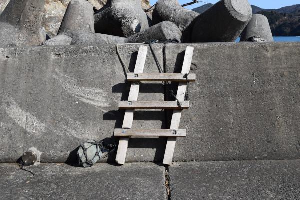 宇久漁港梯子