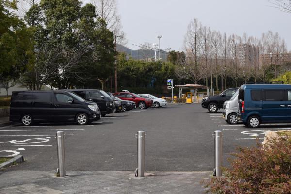 サンシャインビーチ駐車場