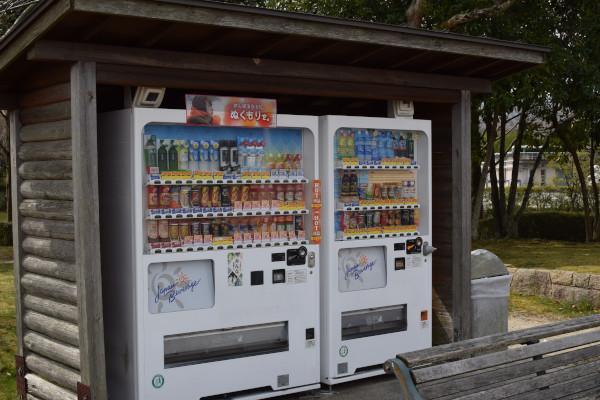 サンシャインビーチの自動販売機