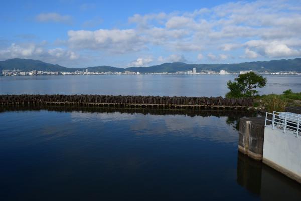 北山田漁港堰堤