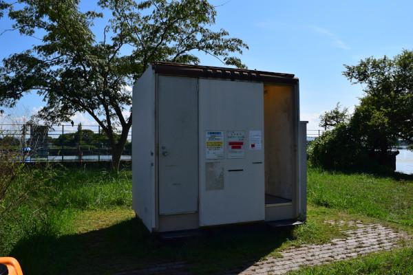赤野井簡易トイレ