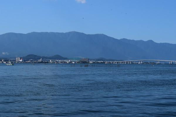 木浜から湖西