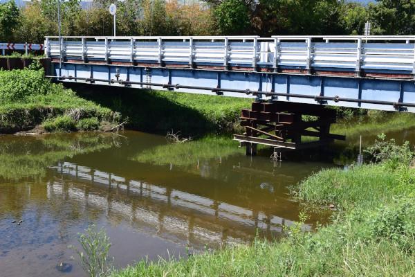真野川河口の橋
