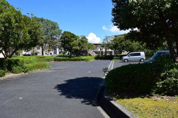 雄琴公園の駐車場