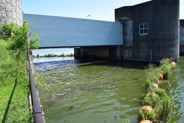 下物内湖水門