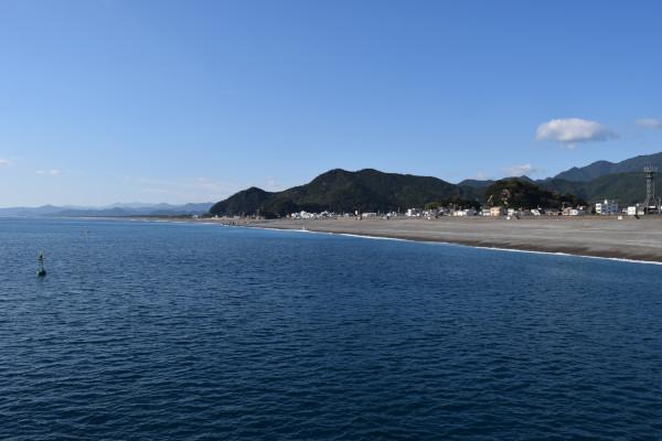 木本港の風景