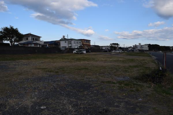 畔蛸漁港の駐車スペース