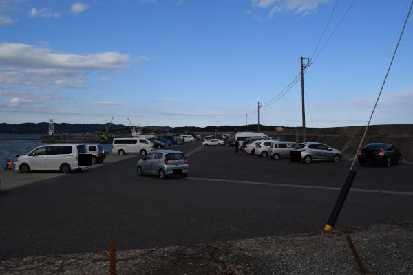 安乗漁港駐車場