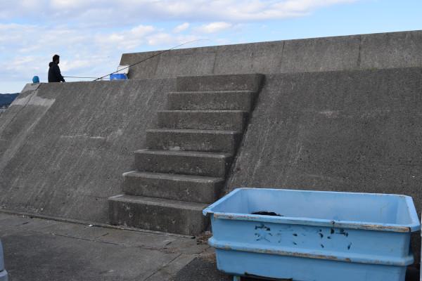 安乗漁港階段