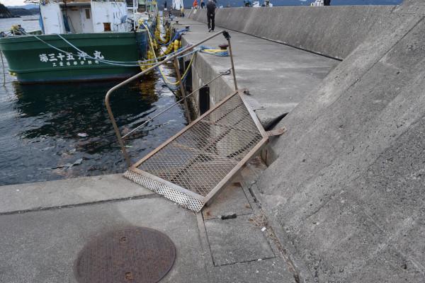 安乗漁港スロープ