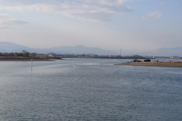外城田川河口