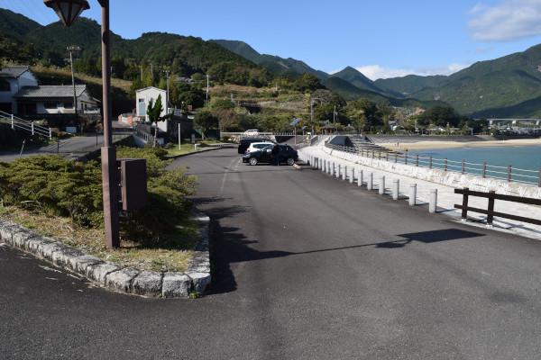 新鹿漁港駐車場