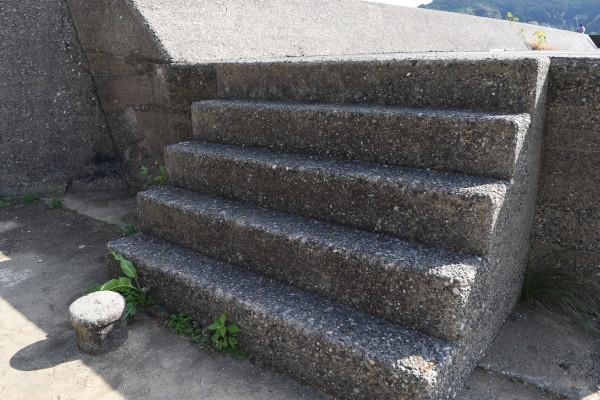 二木島堤防階段