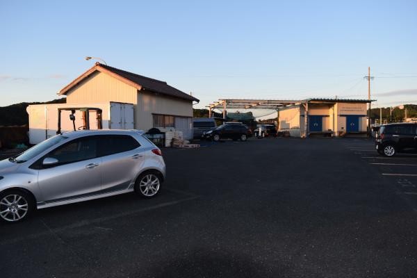 五ヶ所浦の駐車場