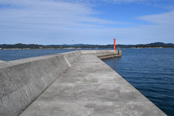 御座漁港釣りポイント