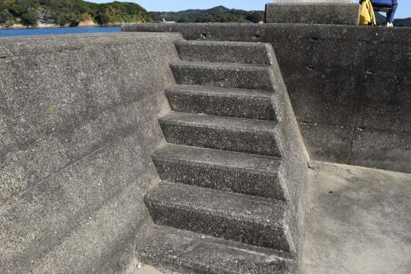 浜島漁港階段