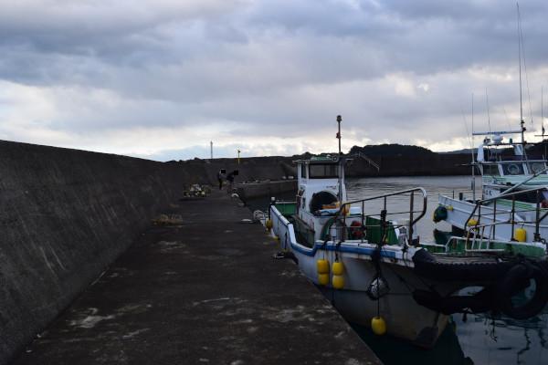海野漁港内側の写真