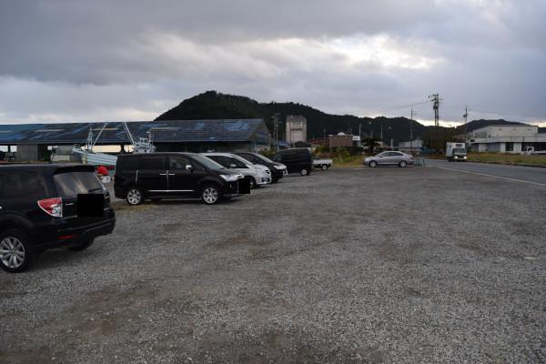 紀伊長島港駐車場