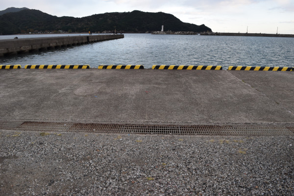 紀伊長島港駐車場そばのポイント
