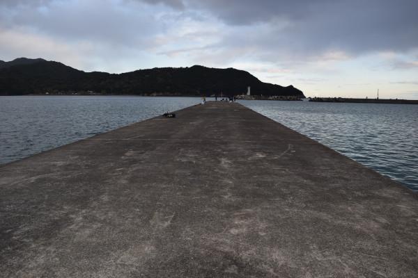 紀伊長島港堤防