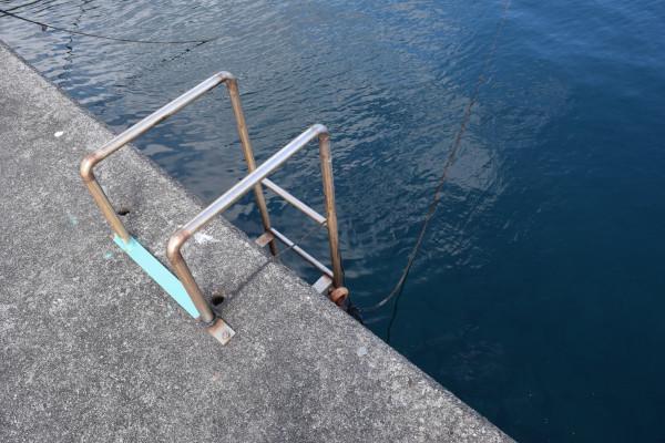 三木浦漁港はしご