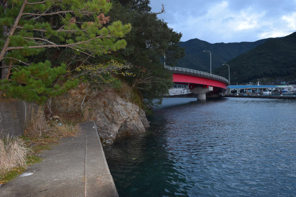 錦漁港岩場