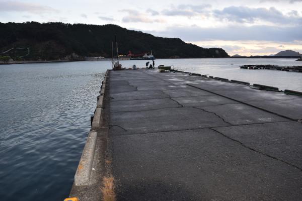 錦漁港堤防