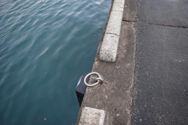 錦漁港岸壁